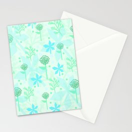 delicate floral pattern Stationery Cards