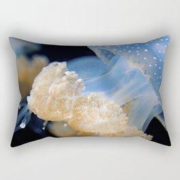 Underwater Macrophotography - Jellyfish Rectangular Pillow