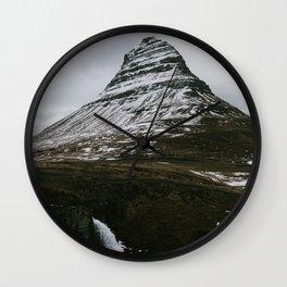 Kirkjufellsfoss, Iceland Wall Clock