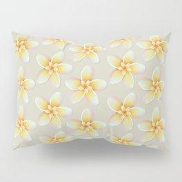 Yellow Flower, Floral Pattern, Yellow Blossom Pillow Sham