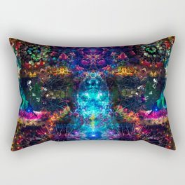 In The Mind's Eyes Rectangular Pillow