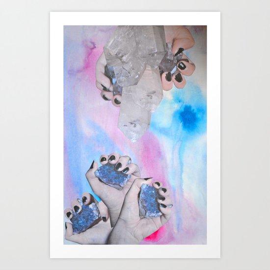 Crystalisis Art Print