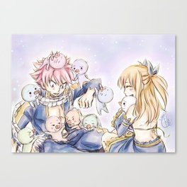 Nalu - Well loved! Canvas Print