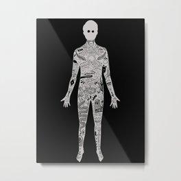 the illustrated man - bradbury Metal Print