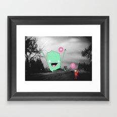 (?) Framed Art Print