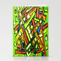 oakland Stationery Cards featuring Uptown Oakland by Octavious Sage