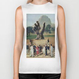 Illuminati Inauguration  - Vintage Collage Biker Tank