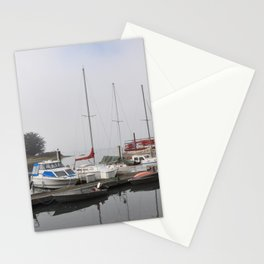Boats of Morro Bay, Ca Stationery Cards