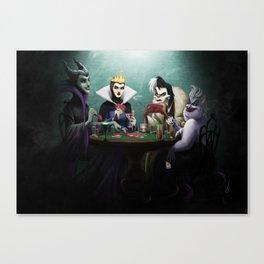 Evil Flush Canvas Print