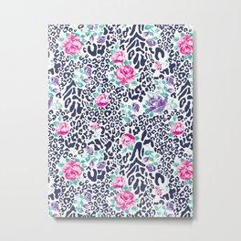 floral animal Metal Print