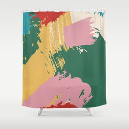Project Glob Shower Curtain