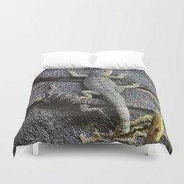 Desert lizards.... Duvet Cover