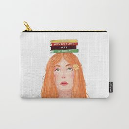 Book girl 02 Carry-All Pouch