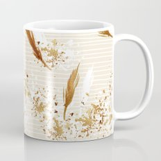 Feather peacock gold #3 Mug