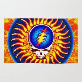 Sunburst Summer Grateful Dead Tribute Rug