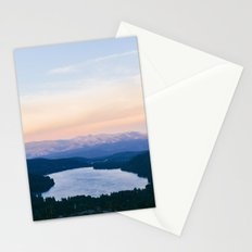 Donner Lake // California Stationery Cards
