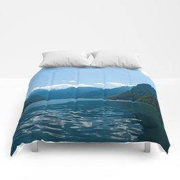 Koenigssee Lake with Alpes Comforters