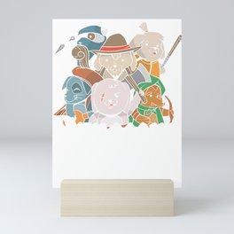 Dungeons & Dogs Mini Art Print