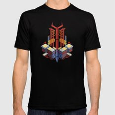 Floating Church of the Bull MEDIUM Black Mens Fitted Tee