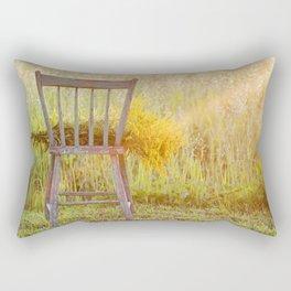 Remnants of a Summer Day Rectangular Pillow