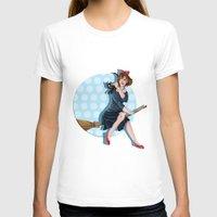 kiki T-shirts featuring Modern Kiki by Nicola Davies