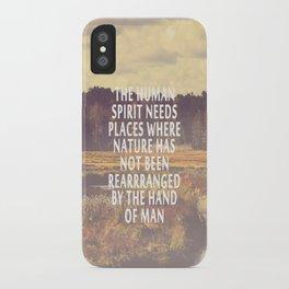 The Human Spirit iPhone Case