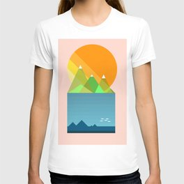 Sun mountains T-shirt