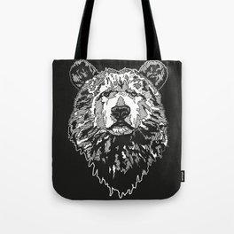 BEAR IN BLACK Tote Bag