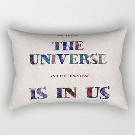 """""""Universe"""" Print Rectangular Pillow"""