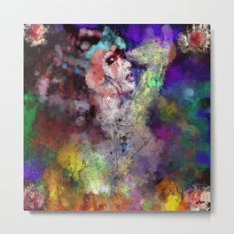 Ariana, Goddess of Color and Emotions  Metal Print