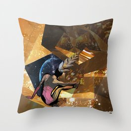 Deep Space Voyage 4 Throw Pillow