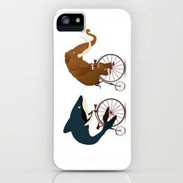 The big race iPhone Case
