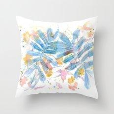 Wild flowers I Throw Pillow