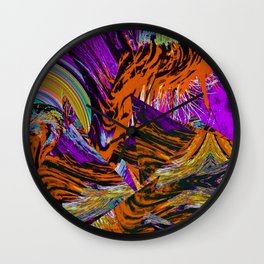 total disarray Wall Clock