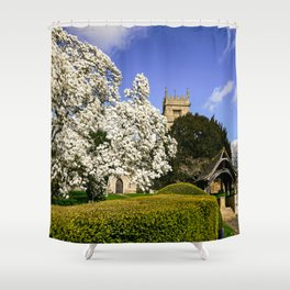 Magnificent Magnolia Shower Curtain