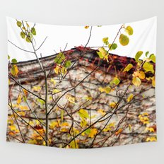 Somewhere in Rhode Island - Abandoned Mill 003 Wall Tapestry