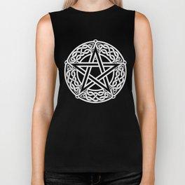 Celtic Pentagram Biker Tank
