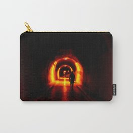 orange tunnel Carry-All Pouch