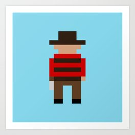 Freddy Krueger / A Nightmare on Elm Street Art Print