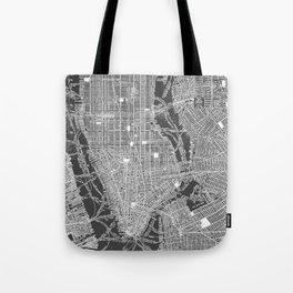 New York City Vintage Map Tote Bag