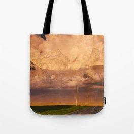 Dust Storm Tote Bag
