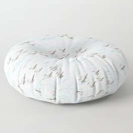 Gulls Floor Pillow