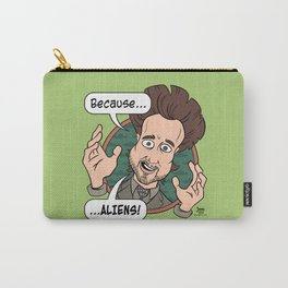 Ancient Aliens Guy. Because... Aliens Carry-All Pouch