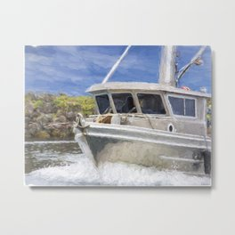 Fisherman's Prayer Metal Print