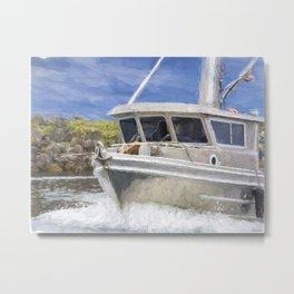 Fisherman's Prayer - West Coast Art Metal Print
