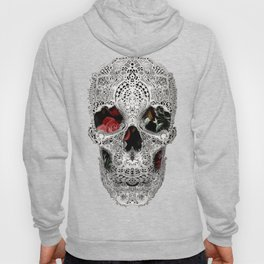 Lace Skull Light Hoody