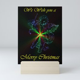 We Wish you a Merry Chistmas Mini Art Print