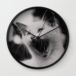 Angry Sebastian Wall Clock