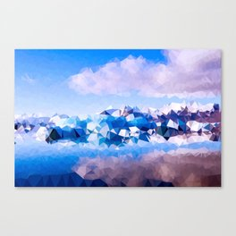 Ice Shard Magic Canvas Print