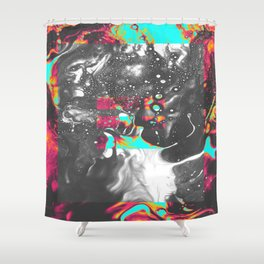 OBSTACLE 1 Shower Curtain